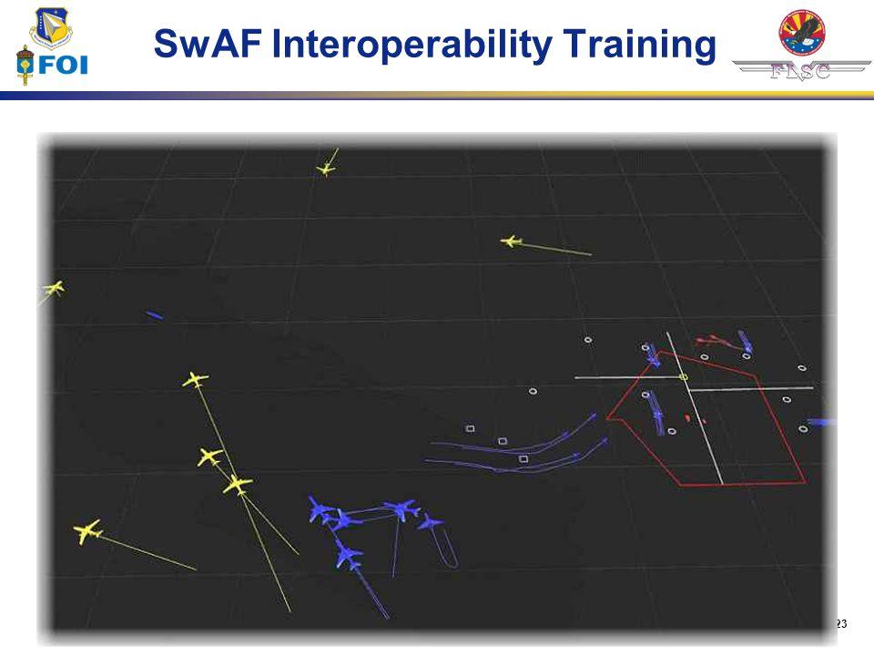 SwAF Interoperability Training