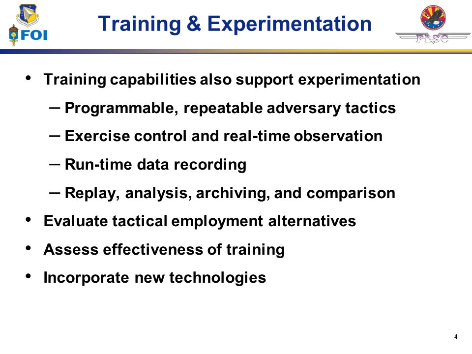 Training & Experimentation