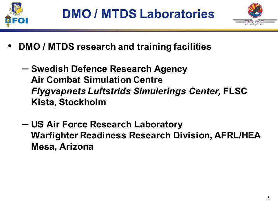 DMO / MTDS Laboratories