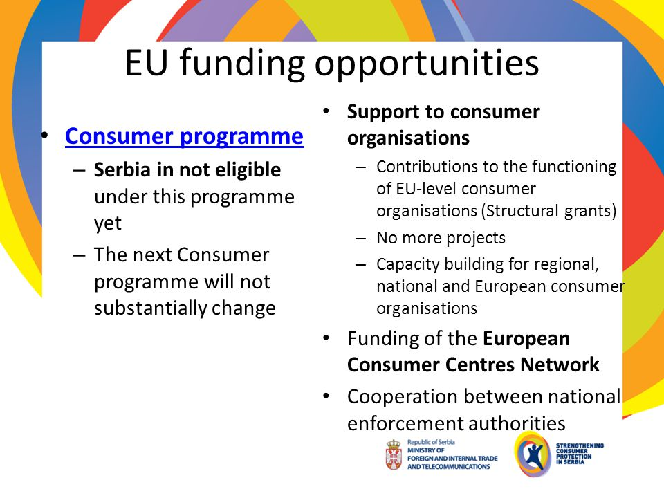 EU funding opportunities