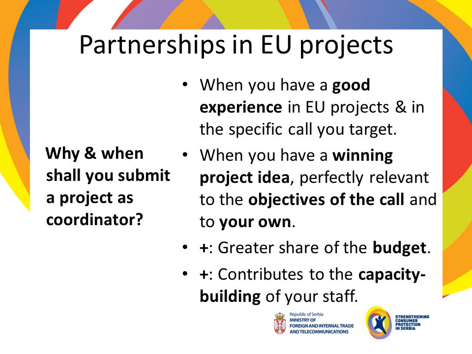 Partnerships in EU projects