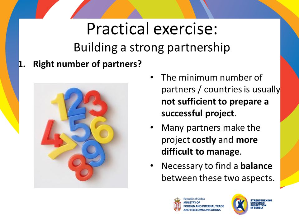 Practical exercise: Building a strong partnership