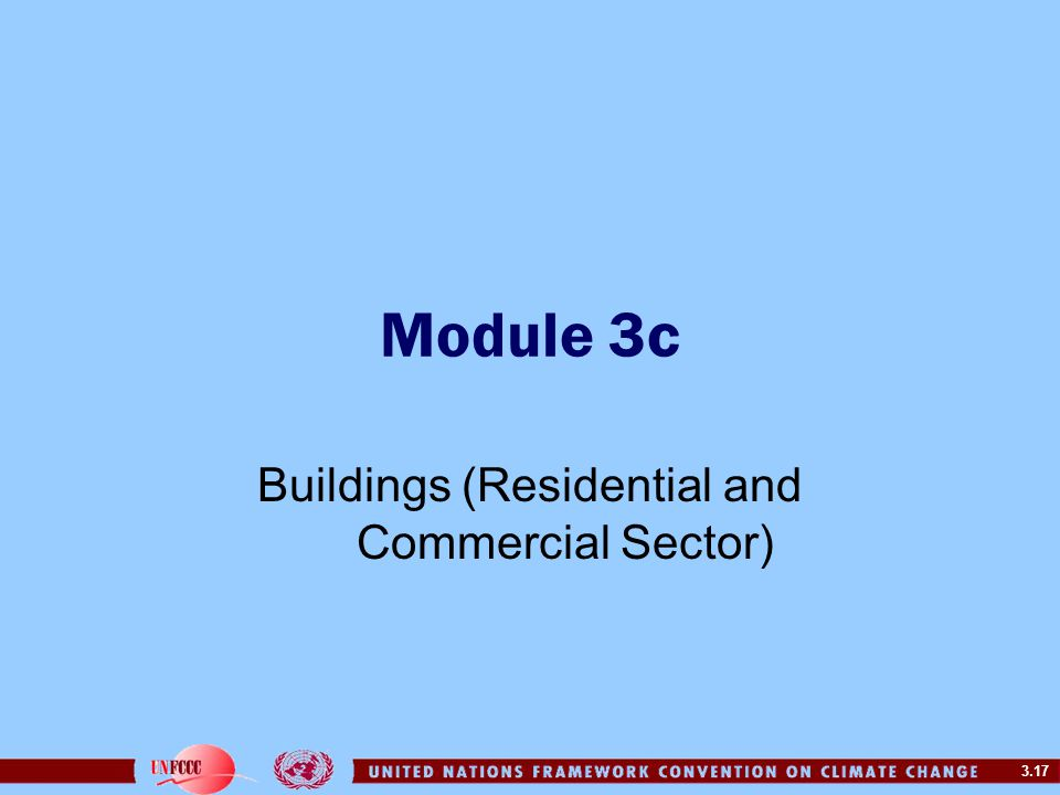 Buildings (Residential and Commercial Sector)