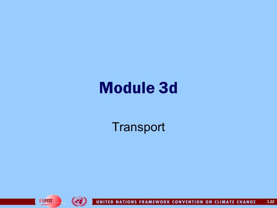 Module 3d Transport