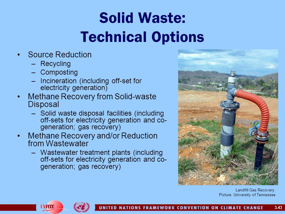Solid Waste: Technical Options