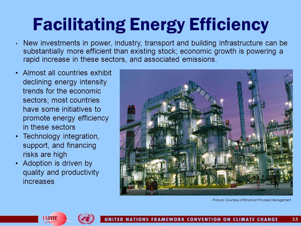 Facilitating Energy Efficiency