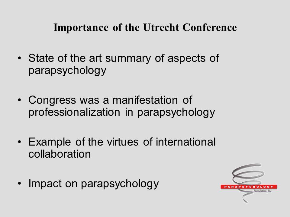 parapsychology ppt