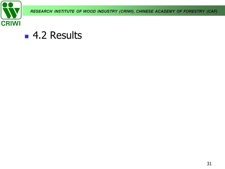 4.2 Results