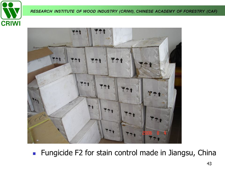 Fungicide F2 for stain control made in Jiangsu, China