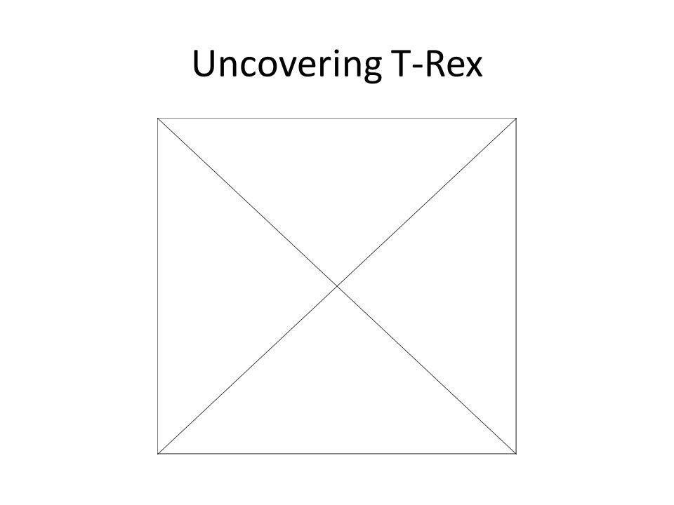 Uncovering T-Rex