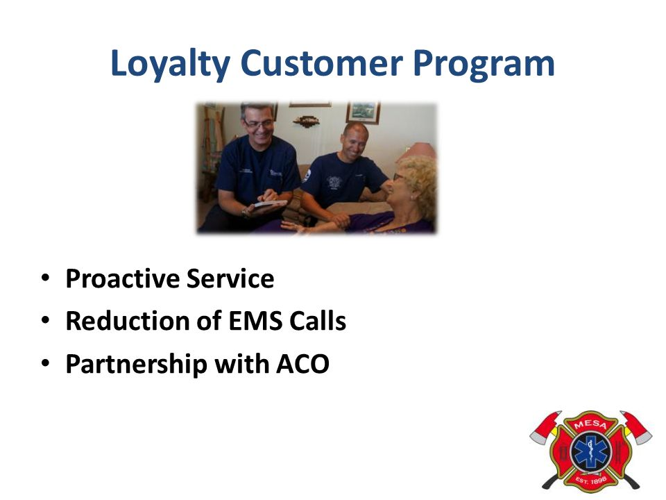 Loyalty Customer Program