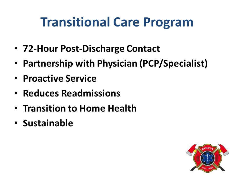 Transitional Care Program