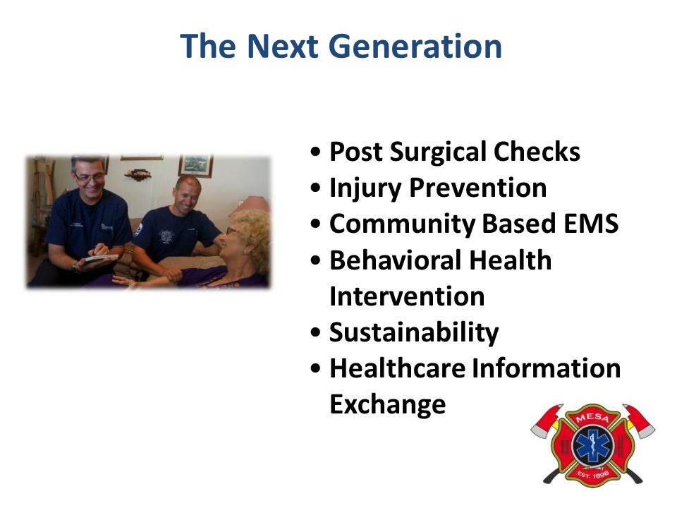 The Next Generation Post Surgical Checks Injury Prevention