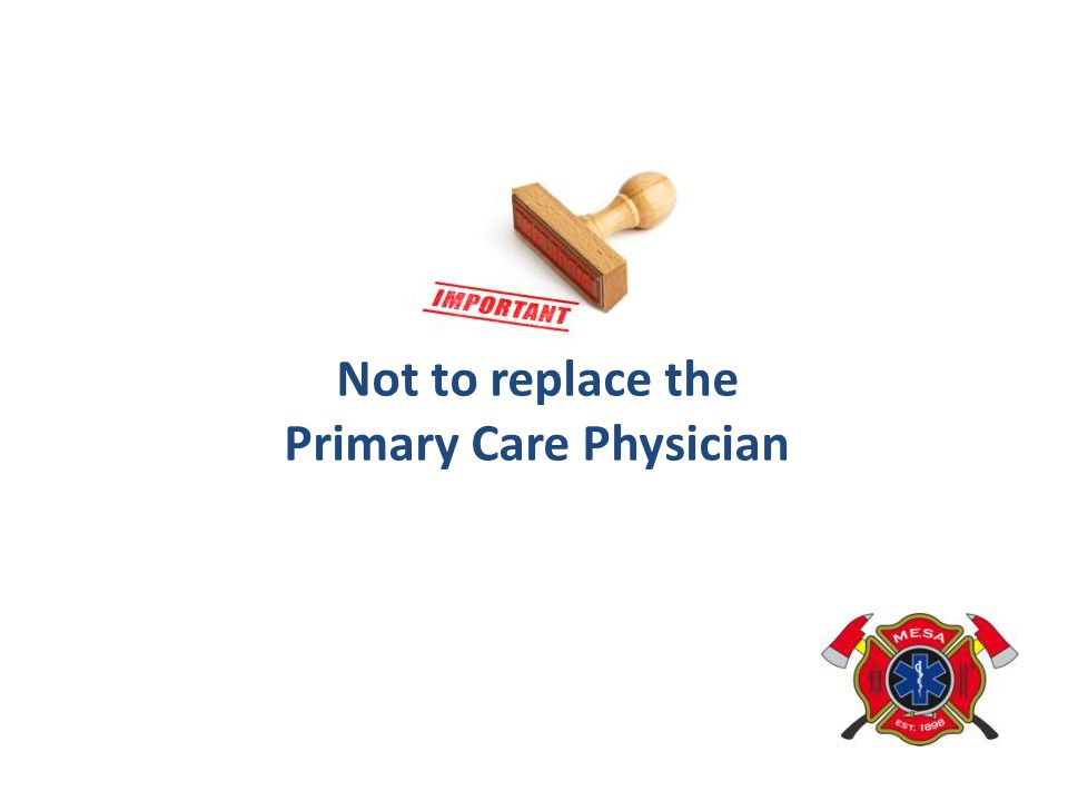 Primary Care Physician