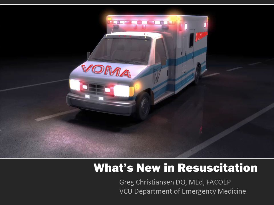 What's New in Resuscitation