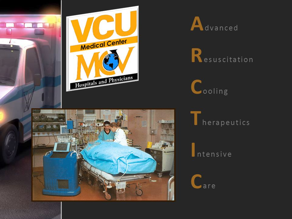Advanced Resuscitation Cooling Therapeutics Intensive Care