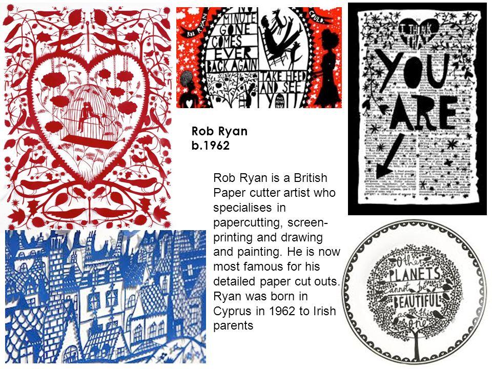 Rob Ryan b.1962.