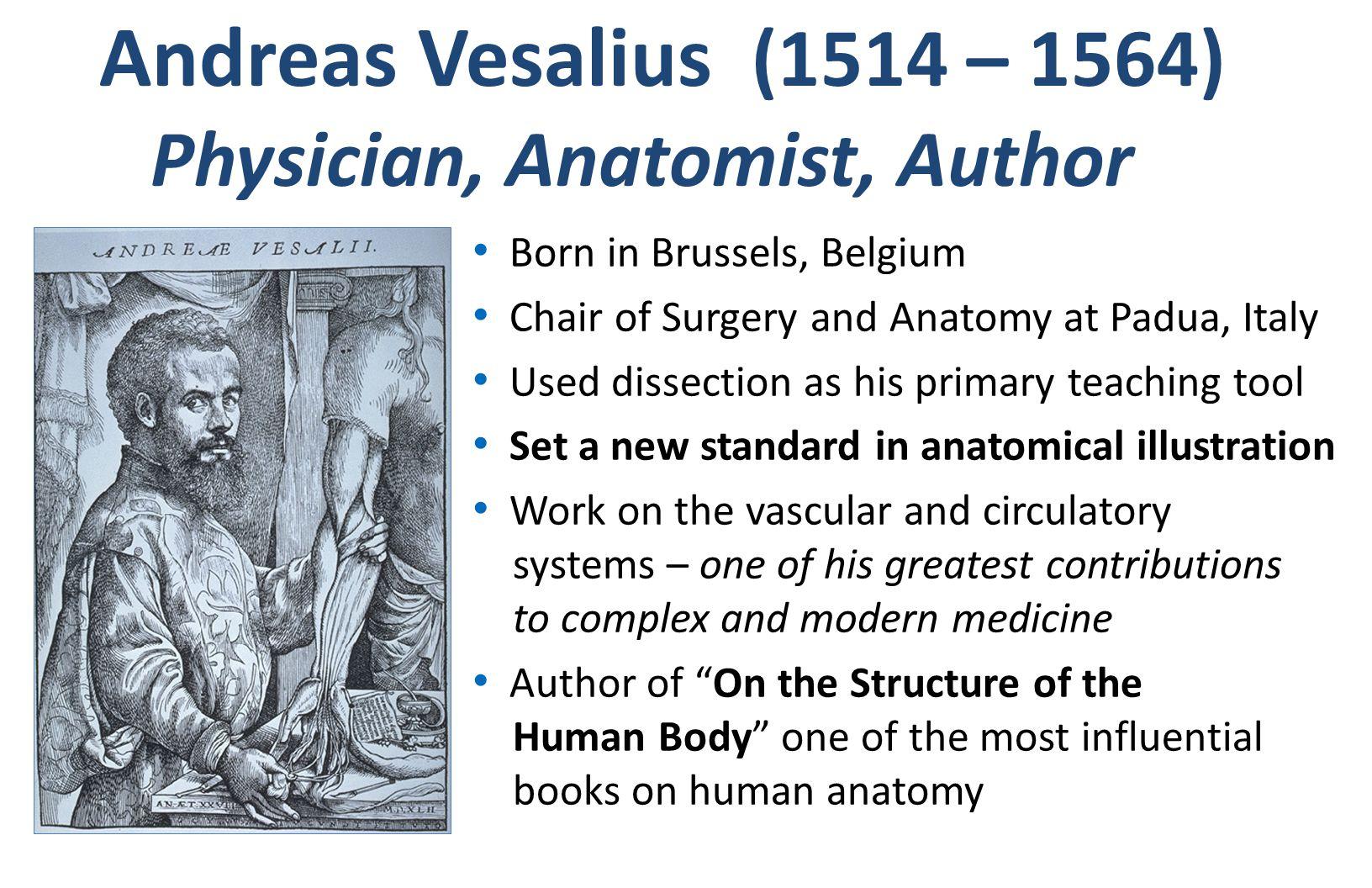 Physician, Anatomist, Author
