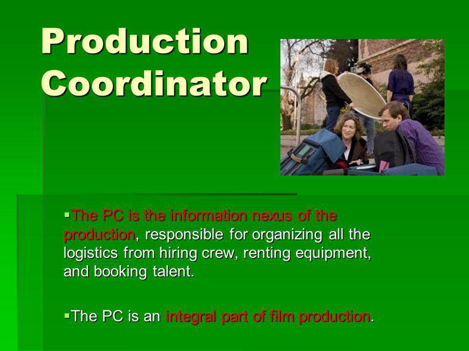 Production Coordinator