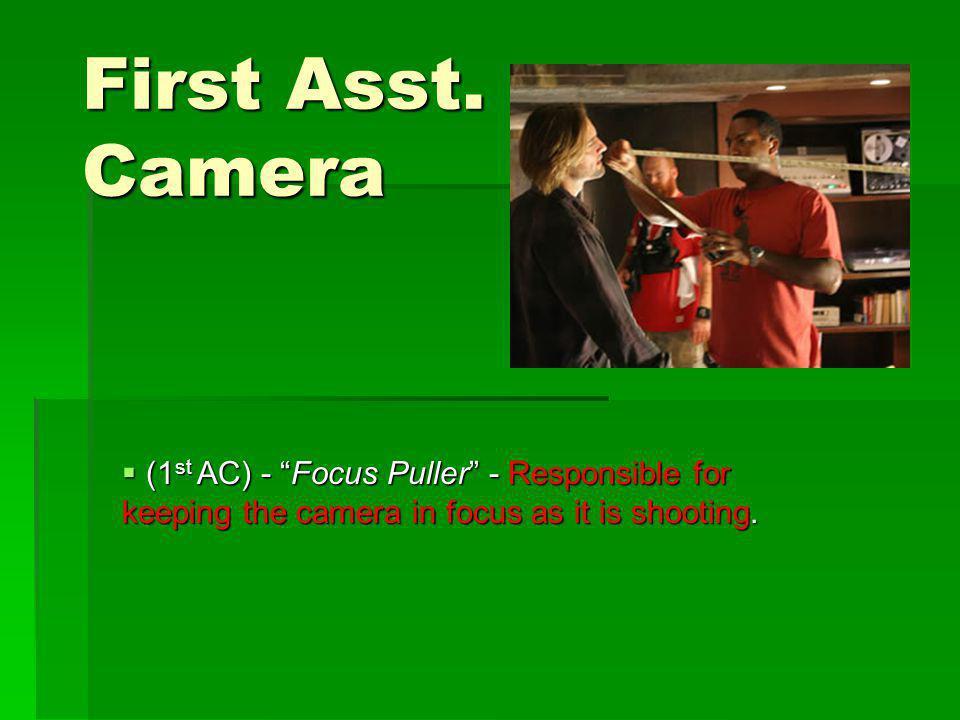 First Asst.