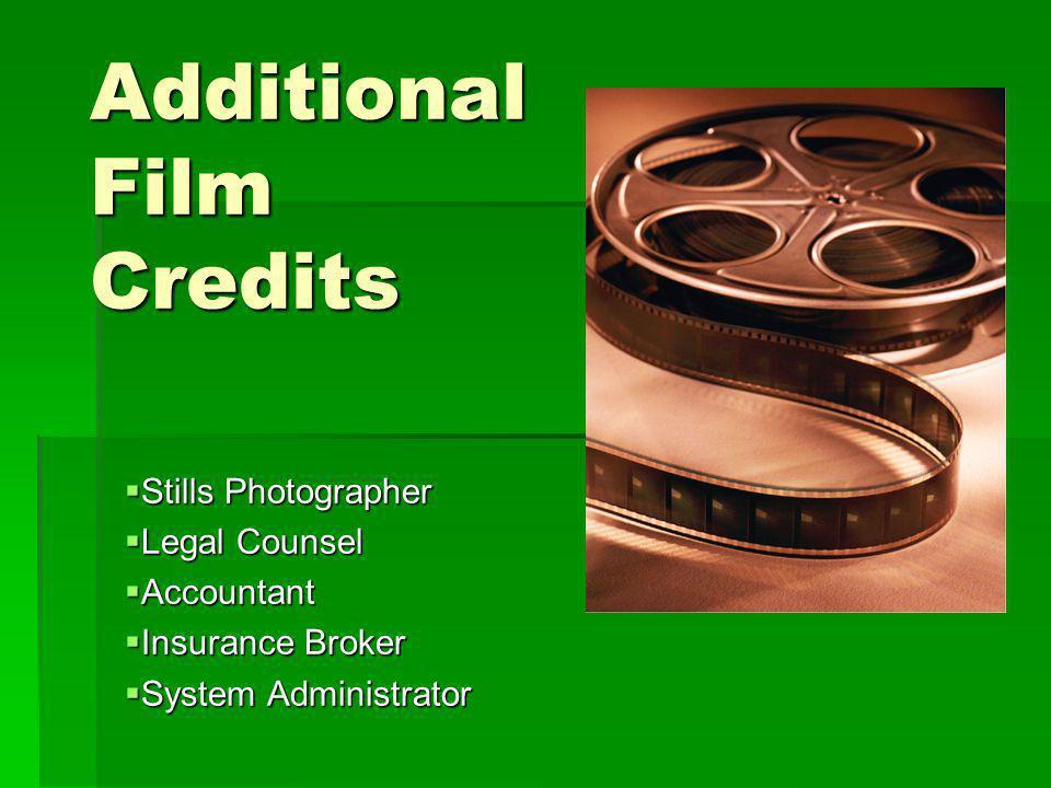 Additional Film Credits