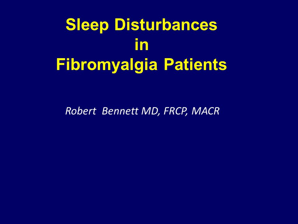 Fibromyalgia Patients