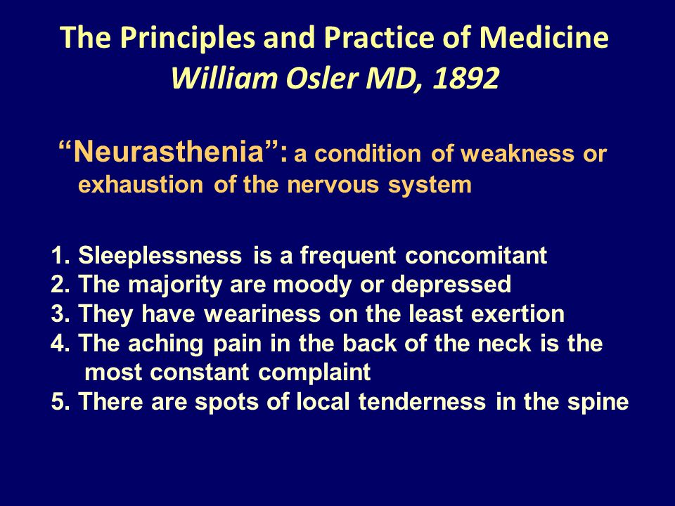 The Principles and Practice of Medicine William Osler MD, 1892