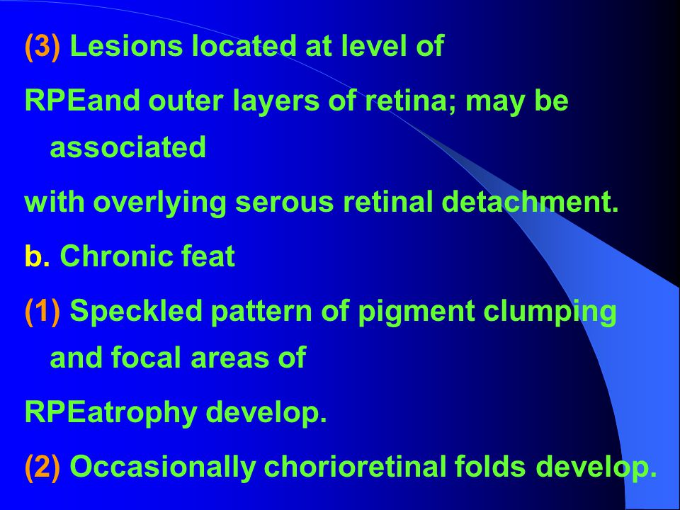 (3) Lesions located at level of