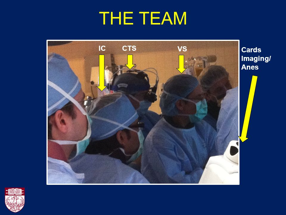 THE TEAM IC CTS VS Cards Imaging/Anes