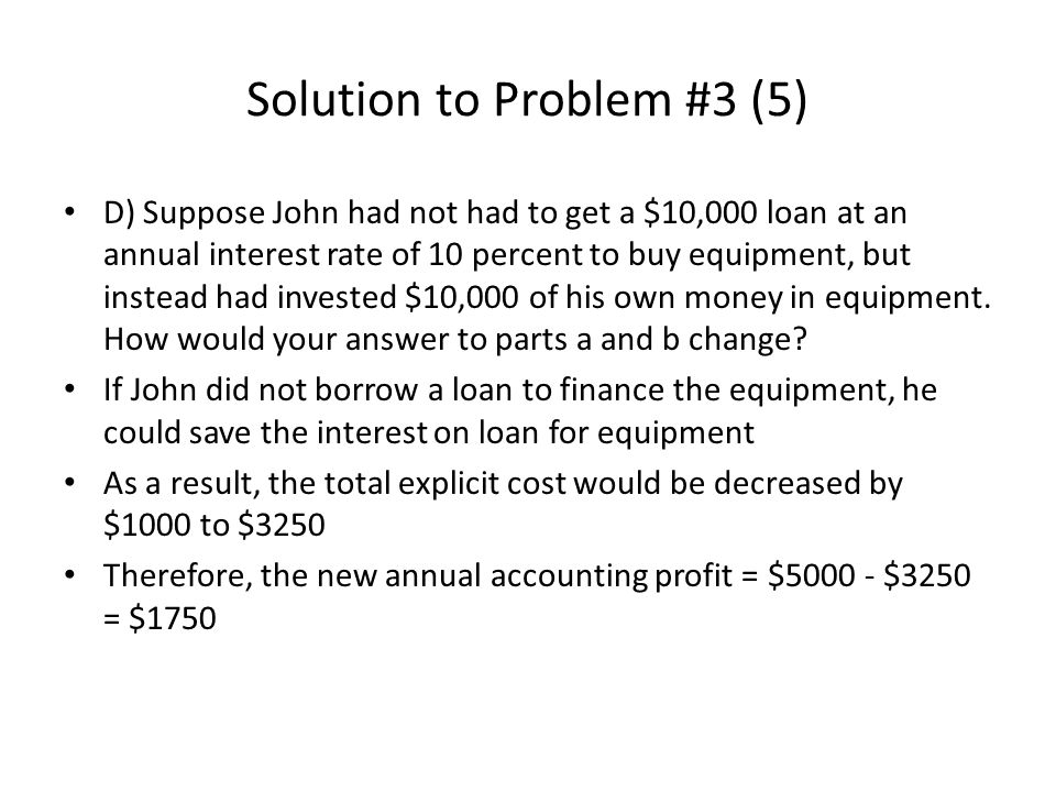 Solution to Problem #3 (5)