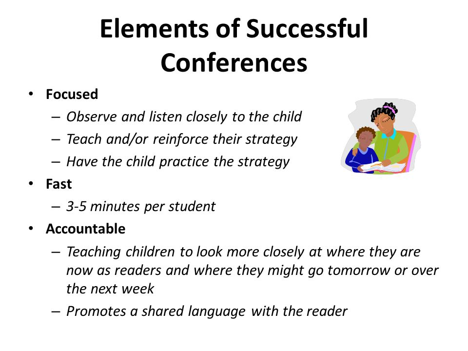 Elements of Successful Conferences