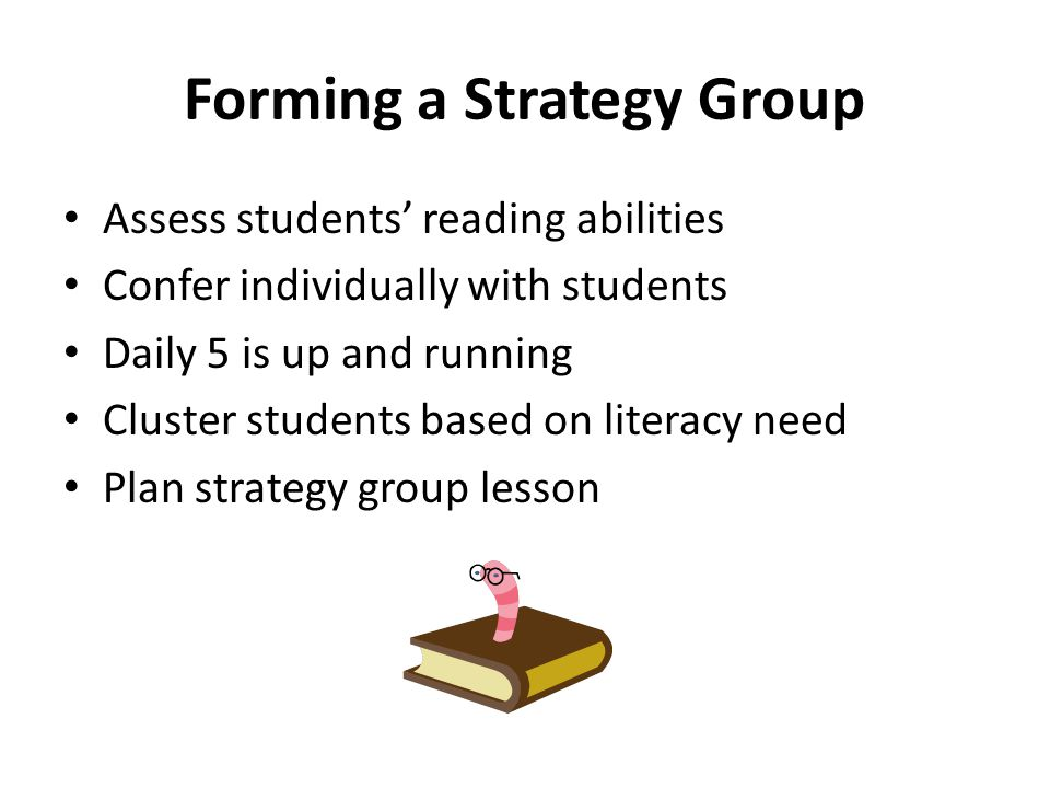 Forming a Strategy Group