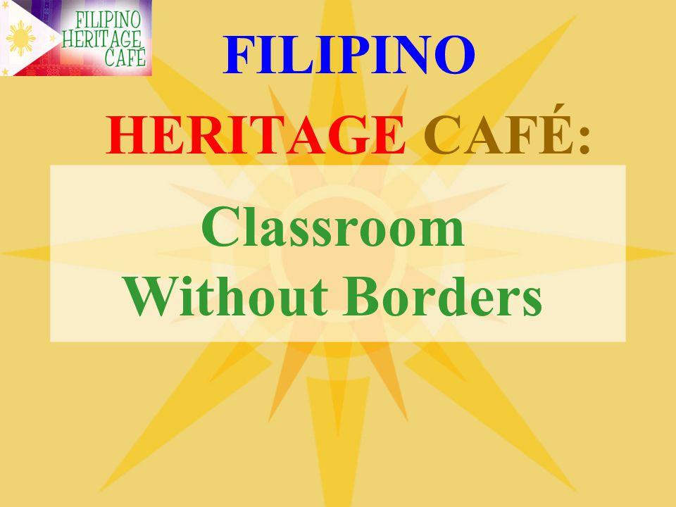 FILIPINO HERITAGE CAFÉ:
