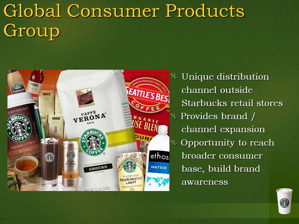 Global Consumer Products Group