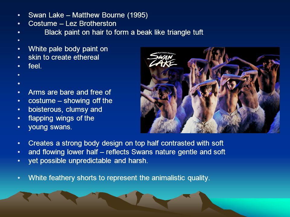 Swan Lake – Matthew Bourne (1995)