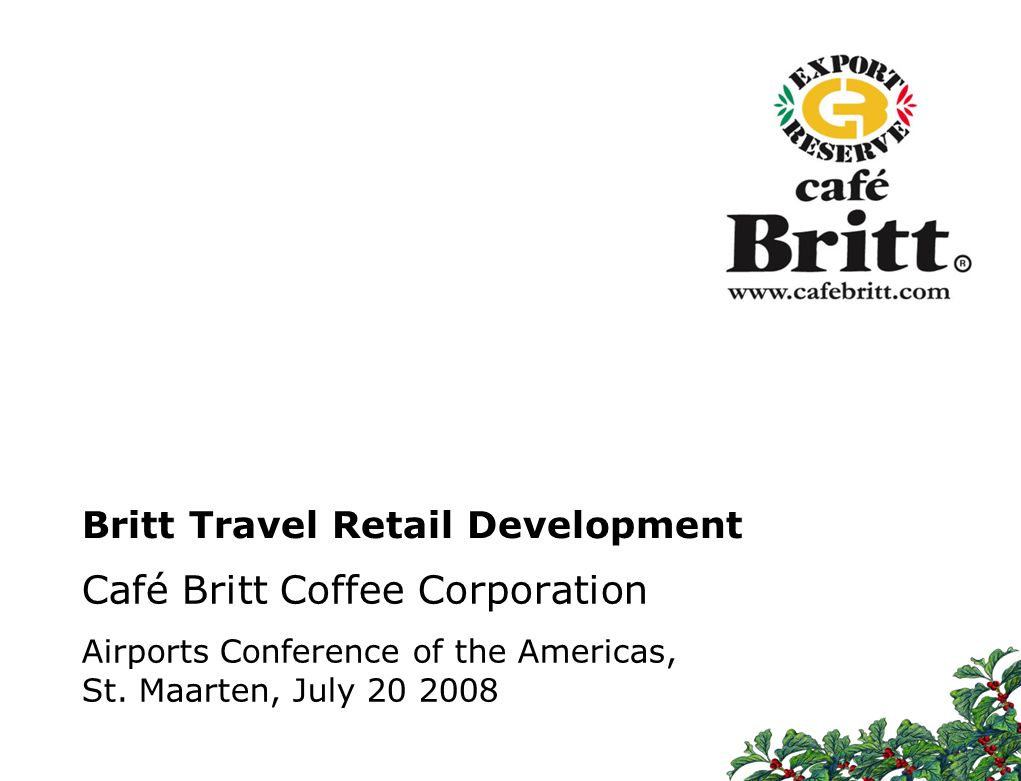 Britt Travel Retail Development