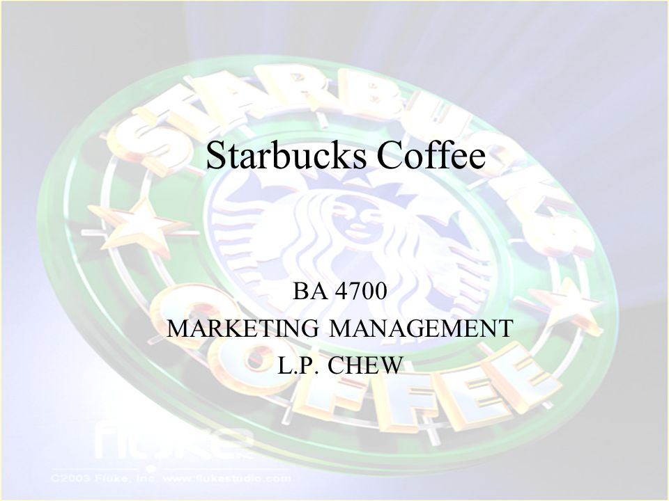 BA 4700 MARKETING MANAGEMENT L.P. CHEW