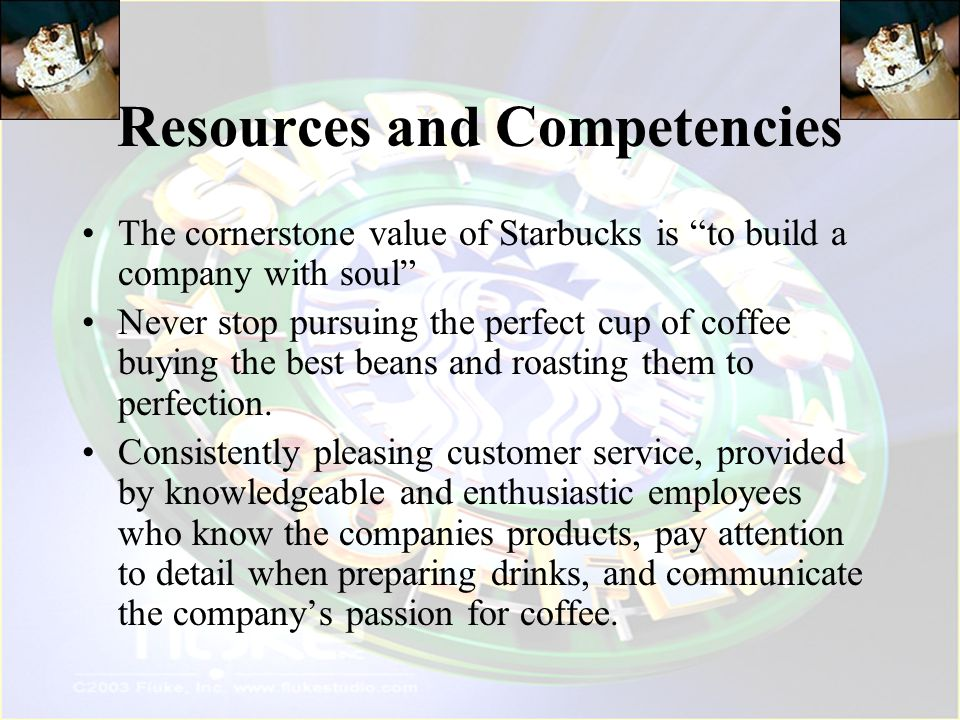 Resources and Competencies