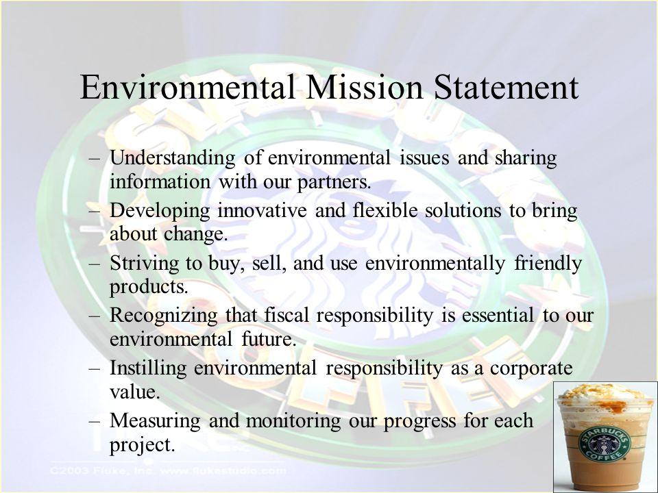 Environmental Mission Statement