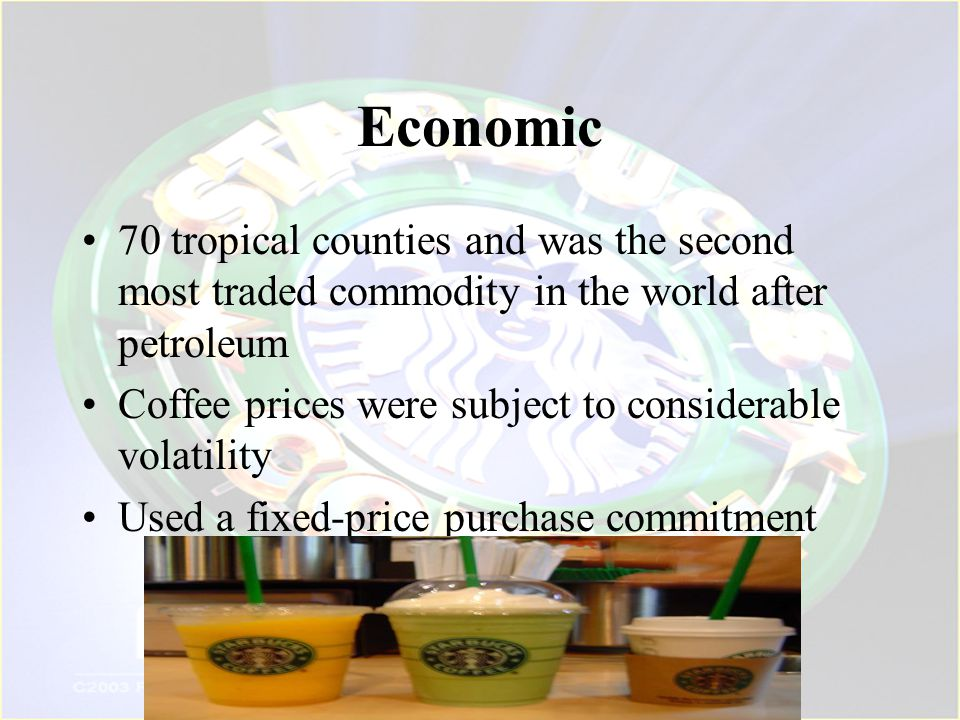 Economic 70 tropical counties and was the second most traded commodity in the world after petroleum.