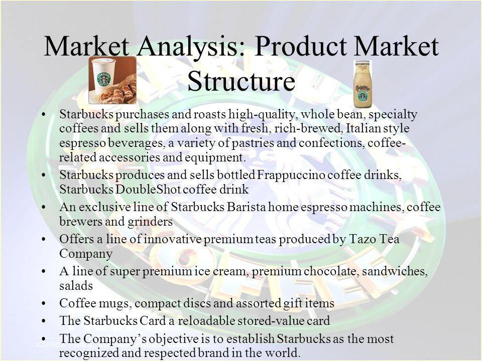 Market Analysis: Product Market Structure