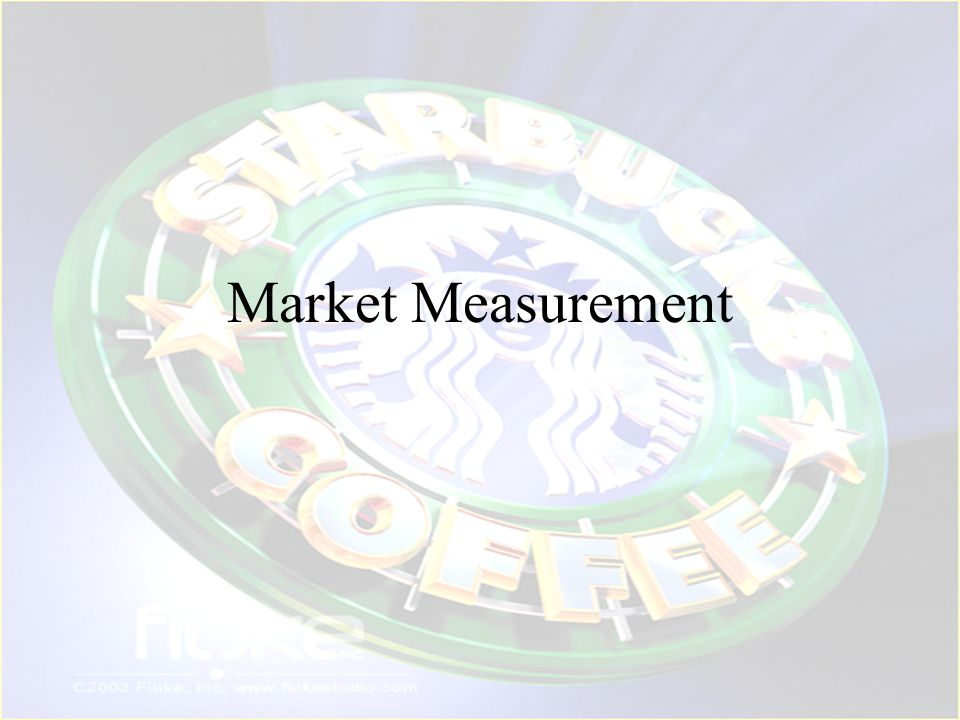 Market Measurement