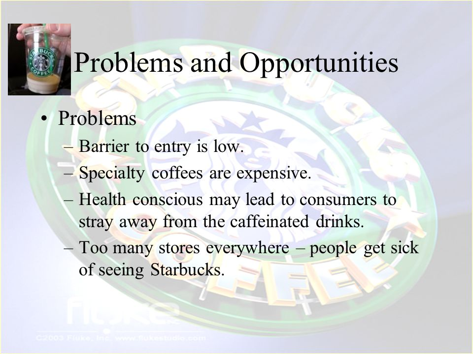 Problems and Opportunities