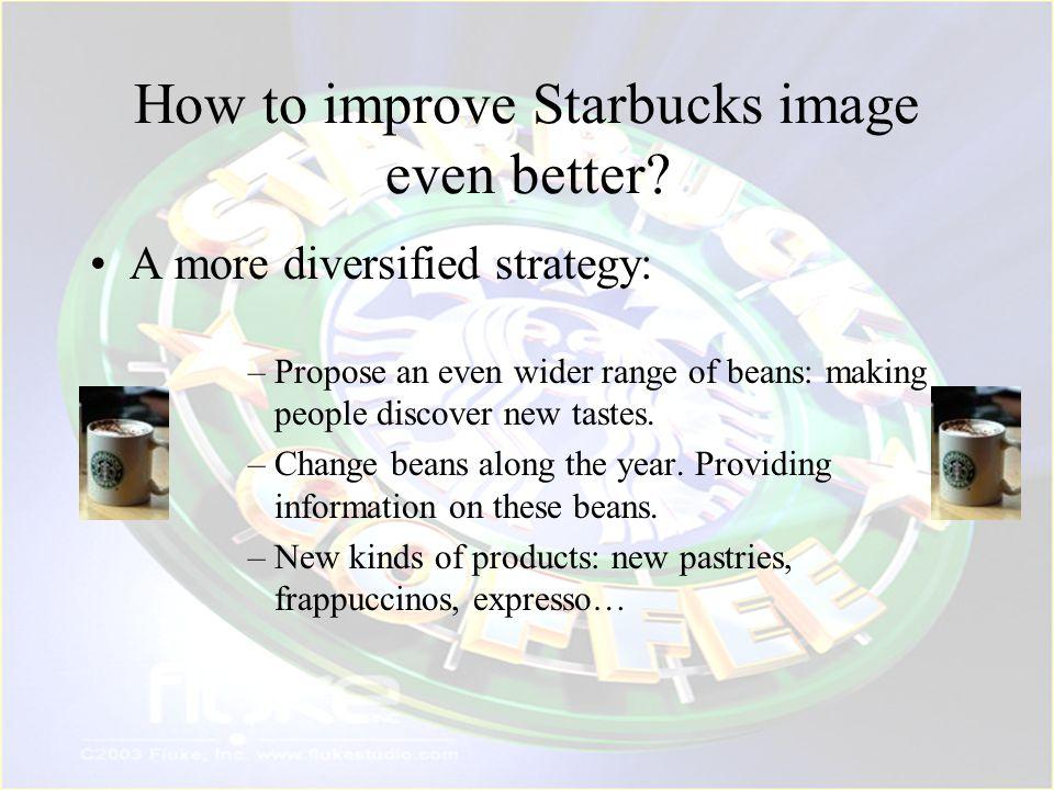 How to improve Starbucks image even better