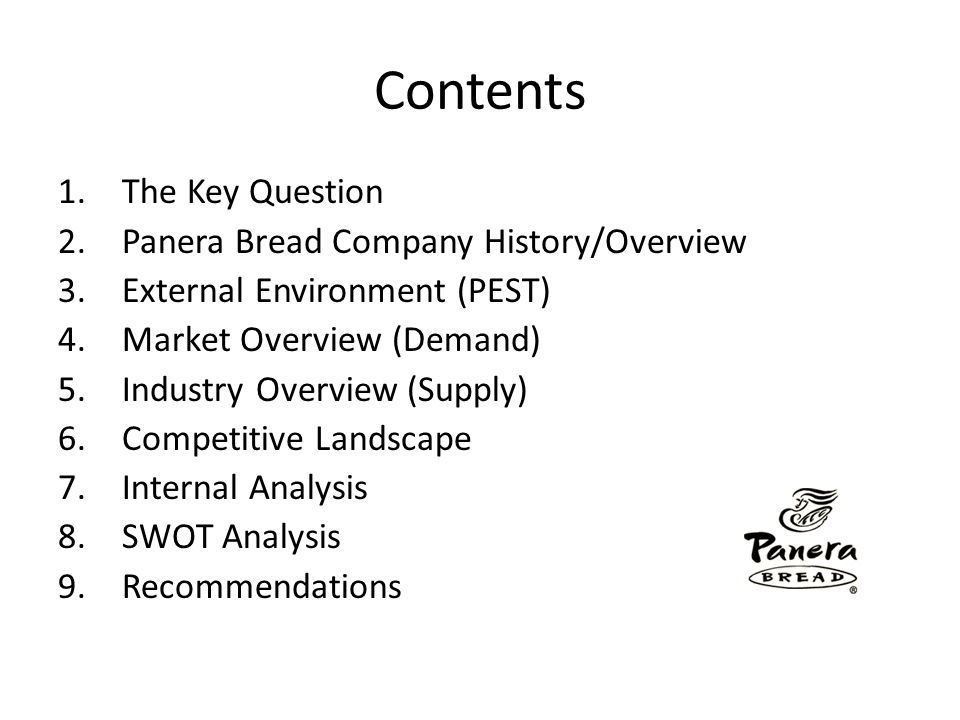 panera case study 1 what is panera bread's strategy which of the five generic competitive strategies discussed in most closely fit the competitive approach that panera bread is taking.