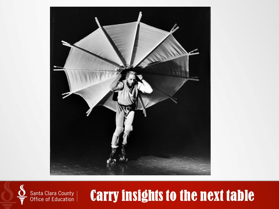 Carry insights to the next table