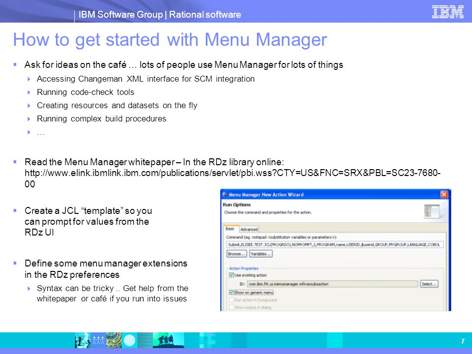 How to get started with Menu Manager
