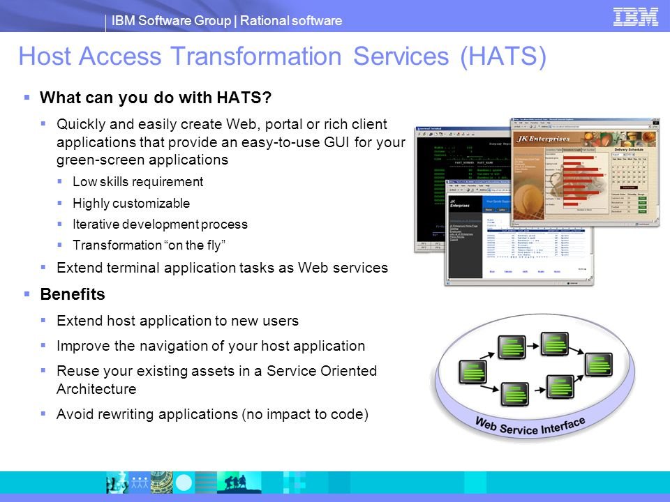 Host Access Transformation Services (HATS)