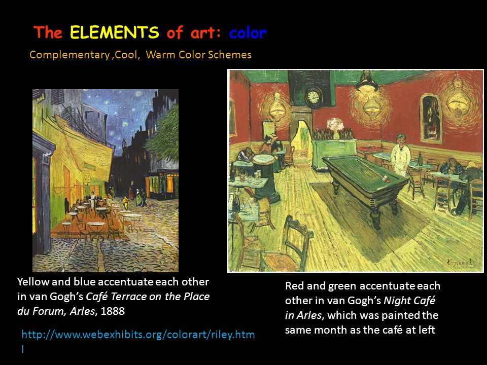 The ELEMENTS of art: color