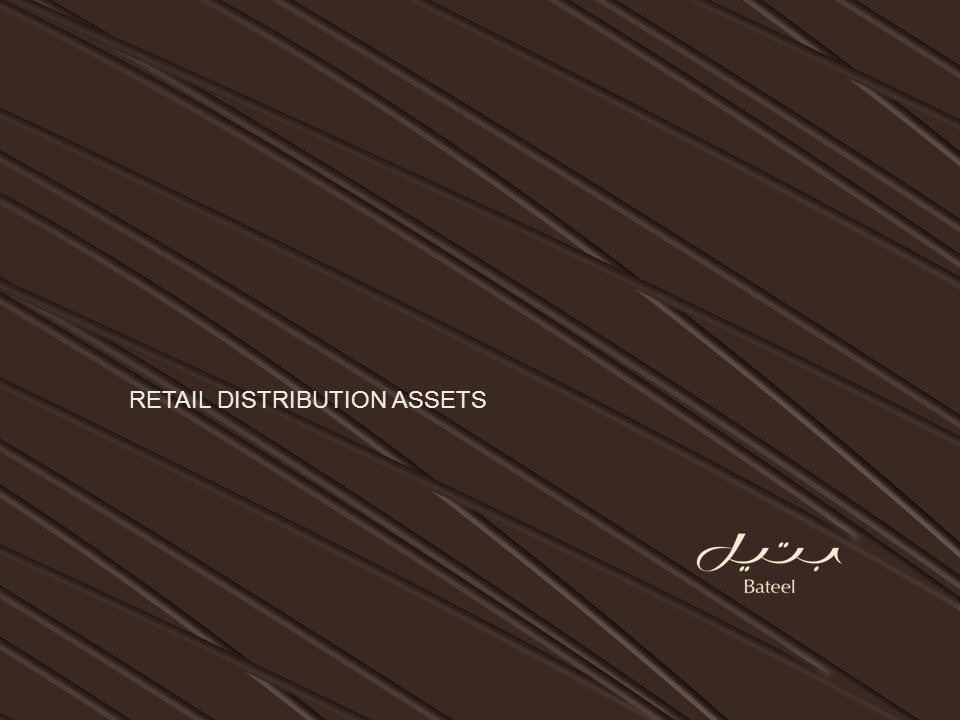 RETAIL DISTRIBUTION ASSETS